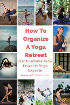 organize a yoga retreat