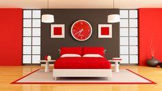 Radiating Red - Cool Bedroom Ideas - Zimbio
