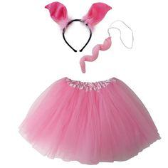 Adult, Plus, or Extra Plus Size Pink Pig Tutu Costume Tulle Costumes, Pig Costumes, Disney Costumes, Adult Costumes, Costume Ideas, Peppa Pig Halloween Costume, Toddler Boy Halloween Costumes, Cute Girl Costumes, Teacup Pigs