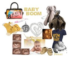 """""""Baby Boom"""" by penni-13 ❤ liked on Polyvore featuring art"""