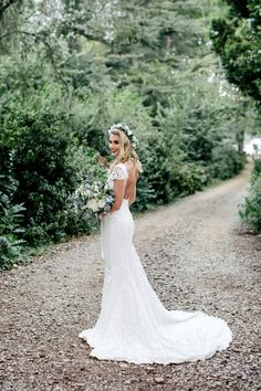 Gorgeous bride in her mermaid style wedding dress with lace panels South African Fashion, African Fashion Designers, Mermaid Style, Lace Wedding, Wedding Dresses, Lace Dress, Bride, Bride Dresses, Bridal Wedding Dresses