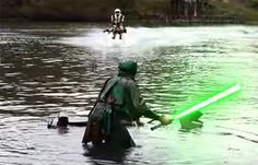 Star Wars Speeder Bike Battle Performed On Modified Hydro Jetbikes Is As Awesome As It Sounds (Watch)