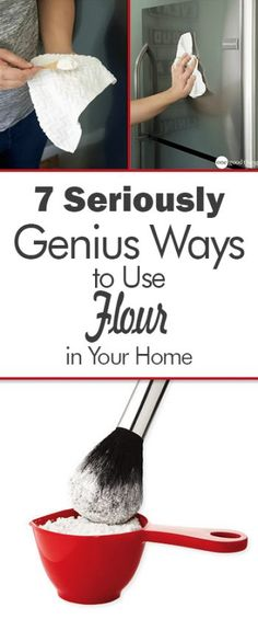 7 Seriously Genius Ways to Use Flour in Your Home| How to Use Flour, Use Flour In Your Home, Flour Uses, Uses for Flour, Ways to Use Flour In Your Home, Tips and Tricks, Home Tips and Tricks, Home Hacks, Popular Pin