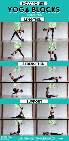 Having a hard time improving your strength and flexibility, no matter how much your practice? You are probably under utilizing a seriously effective tool: yoga blocks! Here are the best ways to use blocks to lengthen, strengthen, and seriously transform your body! #yogaforflexibility #yogablocks #yogaforstrength
