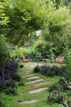 NGV Women's Association annual Garden Day Back Gardens, Small Gardens, Outdoor Gardens, Landscaping With Rocks, Backyard Landscaping, Amazing Gardens, Beautiful Gardens, Landscape Design, Garden Design