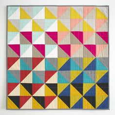 Cirrus Solids HST Quilt | Flickr - Photo Sharing!