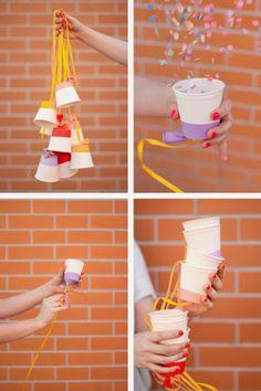 Bodas una Imagen, un Escaparate: DIY: Disparadores de confeti.