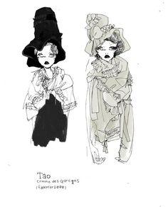 Tao, Comme des Garcons illustration