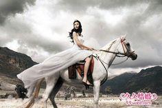 White horse wedding? Maybe so...