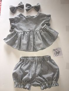 Items similar to LuLu on Etsy Baby Girl Party Dresses, Dresses Kids Girl, Kids Outfits Girls, Girl Outfits, Baby Girl Dress Patterns, Baby Dress Design, Baby Clothes Patterns, Sewing Baby Clothes, Cute Baby Clothes