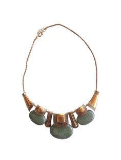 Collar Estanque. Si vives en Chile puedes comprar este hermoso collar en nuestra Tienda Online: www.vicool.cl #Collar #Chile #VentaOnline #Necklace #Étnico