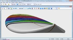 Surfboard design CAD/CAM software for shapers and CNC machine. Wooden Surfboard, Love Shape, Surfing, Software, Surf Boards, Cnc Machine, Boats, 3d Printing, Diy Projects
