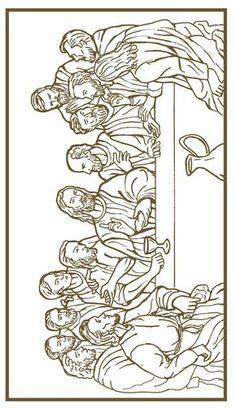 Last Supper Coloring Page . Last Supper Coloring Page . the Last Supper Free Coloring Pages Jesus Coloring Pages, Easter Coloring Pages, Printable Coloring Pages, Colouring Pages, Adult Coloring Pages, Coloring Books, Religious Tattoos, Religious Art, Jesus Drawings