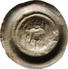 Brakteat Heinrich <Meissen, Markgraf, III.> (1218-1288)|Münzherr Meissen, o.J. (1230-1250) Münzkabinett Material and Technique Silber, geprägt Measurement Durchmesser: 39,2 mm; Gewicht: 0,751 g