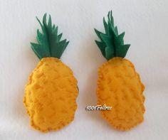 abacaxi em feltro molde - Pesquisa Google
