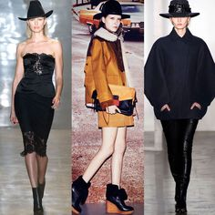 Hat Hat Hat #Trends #Fall2014 Cushnie et Ochs, Coach and Dion Lee!