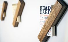 Foreword single book shelf by SaidtheKing on Etsy #bookshelf