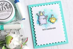 The Card Grotto: VIDEO   Marker & Mousse Background + Video Hop
