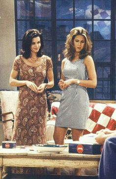 #FriendsTVShow #RachelGreen #MonicaGellar