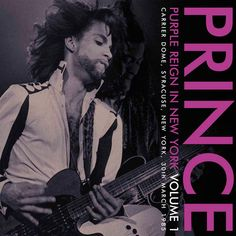 Prince - Purple Reign In New York Volume 1 on Limited Edition Import LP (Purple Vinyl) TBA Pre-order