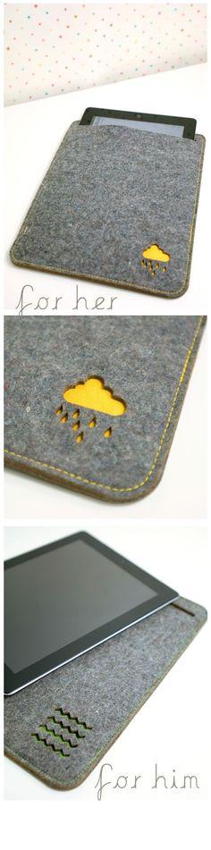 iPad sleeve  by PinkNounou Lifestyle