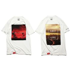 The 'Sunset' & 'Cali Life' Tees available now on the #lafamilia digital corner store. #calilife  http://j.mp/LF_STORE