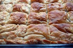 Greek Pastries, Bread And Pastries, Greek Desserts, Greek Recipes, Food Network Recipes, Cooking Recipes, Greek Cooking, Greek Dishes, Savoury Baking