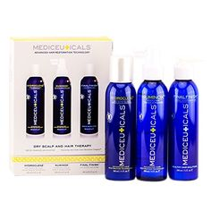 Therapro Mediceuticals Advanced Hair Restoration For Men's System - Dry Scalp & Hair Therapy Kit Hair Regrowth Shampoo, Hair Loss Shampoo, Hair Growth Treatment, Scalp Problems, Advanced Hair, Moisturizing Shampoo, Dry Scalp, Healthy Hair Growth
