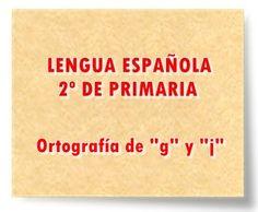 "LENGUA ESPAÑOLA DE 2º DE PRIMARIA: Ortografía de ""g"" y ""j"" Spanish Classroom, Ideas, Teaching Resources, Interactive Activities, Educational Technology, Spanish Language, Slim, Spanish Class, Thoughts"