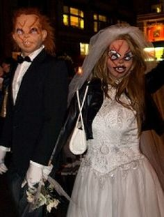 1000 images about halloween costume ideas on pinterest chucky and his bride