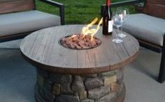 Walmart Gas Fire Pit gas fire pit heater patio deck pool table stone outdoor open flame