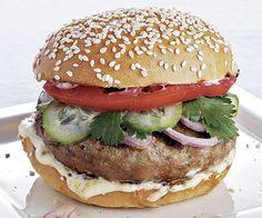 Thai Curry Turkey Burgers by finecooking #Burgers #Turkey #Thai