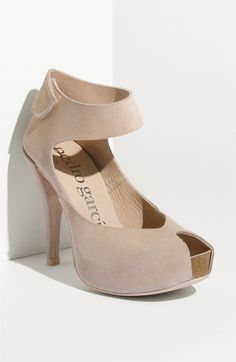 Pedro Garcia 'Chrysta' Ankle Strap Pump   - I would wear these with jeans and a pretty top.