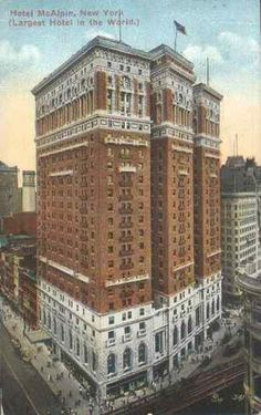 Hotel McAlpin - now known as Herald Towers in Herald Square. #Manhattan #NYC