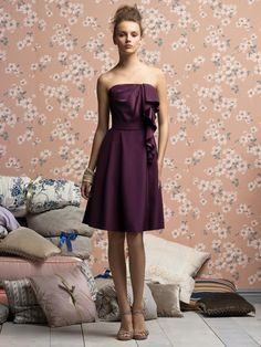 Lela Rose Bridesmaids Style LR138XX  #purple #bridesmaid #dress
