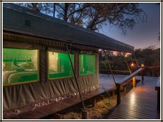 Luxury Tent Accommodation  - Simbavati River Lodge, South Africa River Lodge, Luxury Tents, Camps, Lodges, South Africa, Safari, Outdoor Decor, Home Decor, Cabins