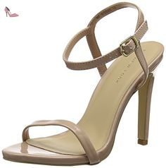 fb5e1117b15e7 New Look Santorini, Bride de cheville femme  Amazon.fr  Chaussures et Sacs