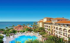 Lataa kuva Tenerife, Kesällä, Espanja, Kanarian Saaret, aurinkotuolit, matka, loma