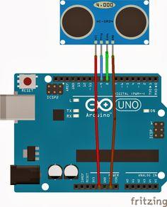 El cajón de Arduino: Tutorial: sensor ultrasonidos HC-SR04