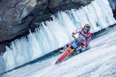 Watch this Fearless Ride over a Frozen Lake in Siberia in 4K