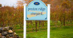 Preston Ridge Vineyard in Preston, Connecticut.
