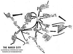 MAPS BY GUY DEBORD