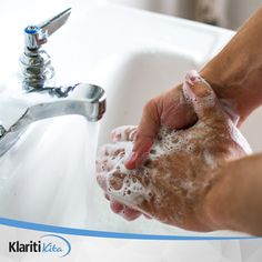 It is important to wash your hands thoroughly many times throughout the day, especially after the usual unhygienic activities like using the bathroom. Aside from that, wash your hands as much as possible when being in contact with others frequently. Health Tips, Health And Wellness, Health Goals, Antibacterial Soap, Wash Your Face, Face Wash, Clean Face, Ocd, Hand Washing