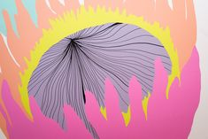 Protea Flower Illustration | Wall Design