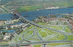 Rotterdam. The Netherlands - Van Brienenoordbrug