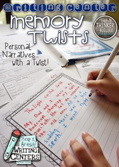 A 'Twist' on Personal Narrative Writing