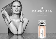 Wang's First Fragrance for Balenciaga–B. Balenciaga is the first scent from the Parisian fashion house under Alexander Wang. Model Anna Ewers stars in the… Alexander Wang, Balenciaga Perfume, Burberry, Anna Ewers, Celebrity Perfume, Perfume Ad, Paris Perfume, Perfume Bottles, Fragrance