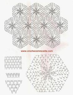 CROCHE COM RECEITA: Tapetes florais em crochê para o banheiro