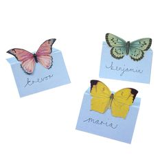 Truly Fairy Printable Place Cards