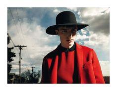 Victor Nylander por Willy Vanderperre para Dior Homme Otoño / Invierno 2011